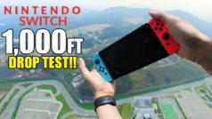 ¿Puede sobrevivir Nintendo Switch a una caída de más de 300 metros?