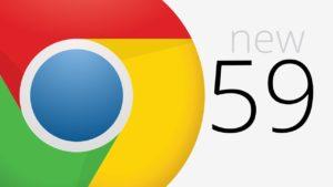 El nuevo Chrome 59 trae más mejoras de las esperadas… y un cambio de diseño