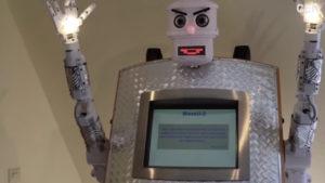 Te presentamos al robot cura: te bendice… pero da un poco de miedo