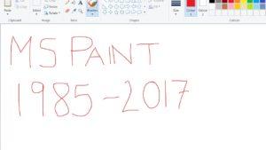 Microsoft mata a Paint después de 32 años ayudándonos a garabatear