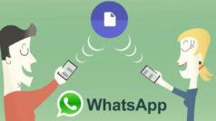 WhatsApp ahora te permite enviar cualquier tipo de archivo a tus contactos