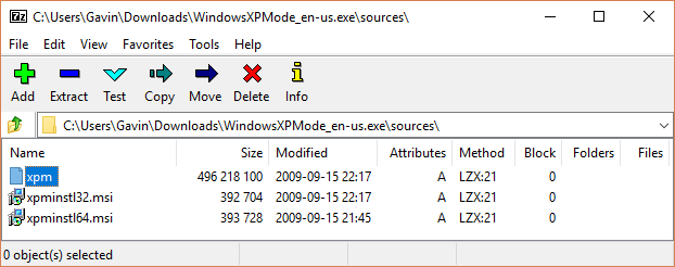 Windows-XP-Mode-XPM-File