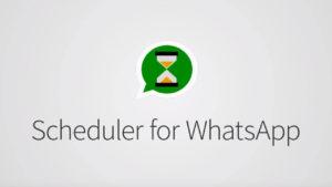Esta app te promete programar tus mensajes de WhatsApp. ¿Cumple su promesa?