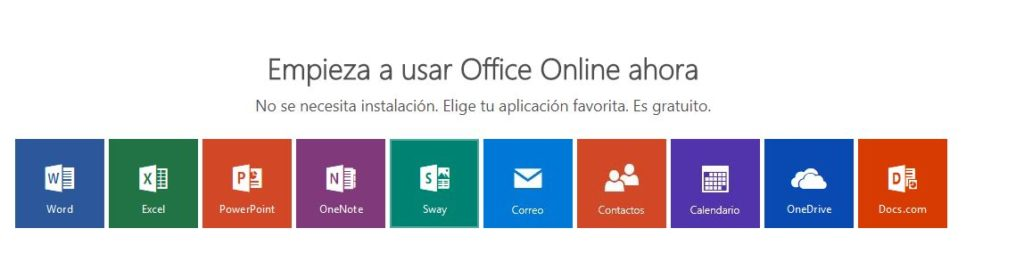 microsoft office gratis online