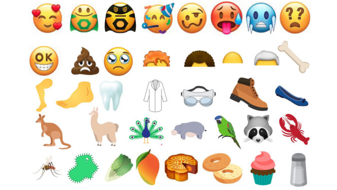 new-emojis-2018