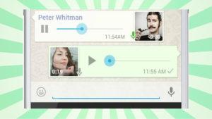 Actualiza tu WhatsApp ya si quieres tener la función de repetir los mensajes de voz
