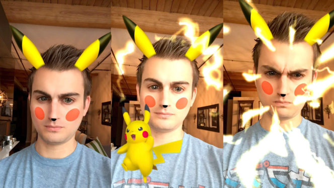 pikachu-snapchat