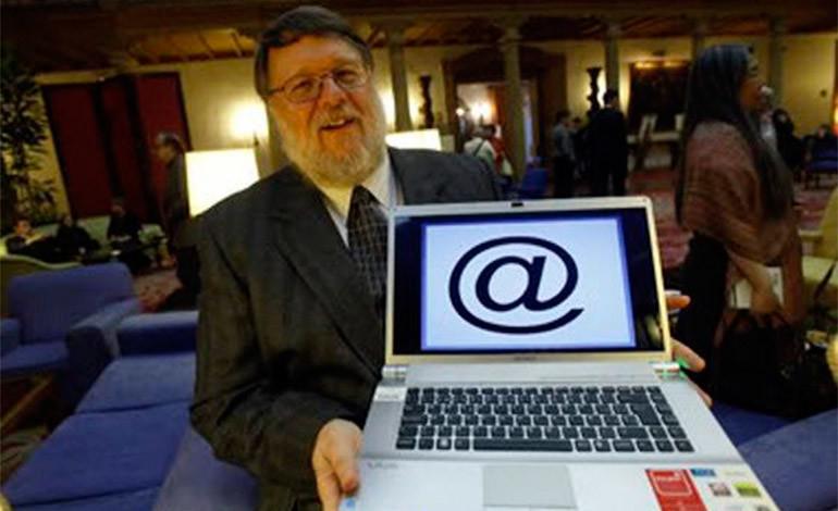 ray-tomlinson - correo electronico - virus