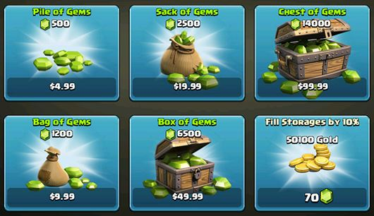 Clash-of-Clans-buy-gems-worldwide
