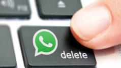 """WhatsApp: la función de borrar mensajes tiene un gran """"pero"""""""