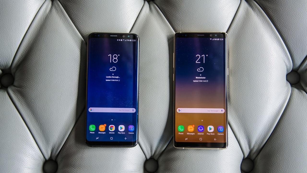 Comparamos el Samsung Galaxy Note 8 con el Samsung Galaxy S8+