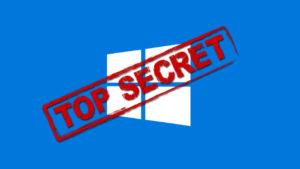 Windows 10: cómo desbloquear su menú oculto