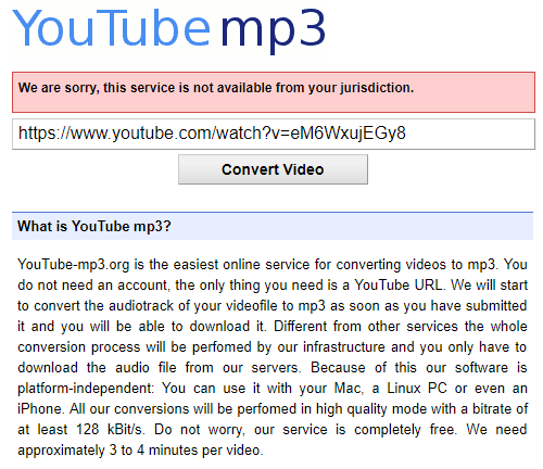 youtube-mp3-conversion-site-message