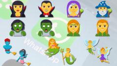 WhatsApp se llena de emojis de vampiros, zombis, brujas y otras criaturas fantásticas