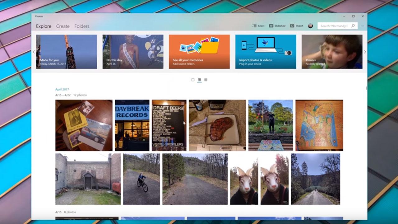 Windows 10 Fall Creators Update ya llegó: así es su nueva interfaz, Fluent Design
