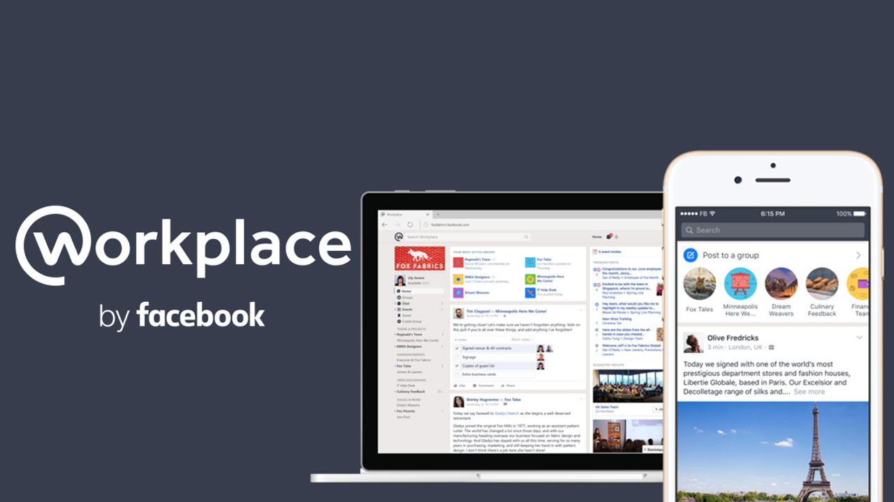 Workplace lanza app de chat con pantalla compartida para PC y Mac