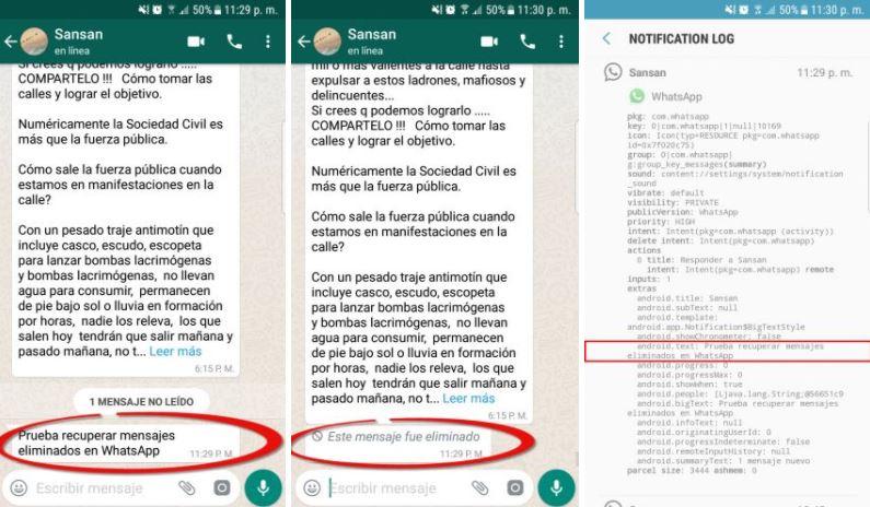 WhatsApp: ya se pueden borrar mensajes privados