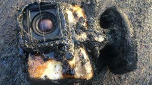 Una GoPro sobrevive a un río de lava, ¡y además lo graba!