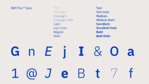 ¿Cómo crear una nueva tipografía puede ahorrar 1 millón de dólares al año a IBM?