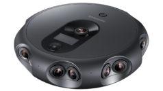 Graba y emite en Realidad Virtual 3D con la cámara Samsung Round 360