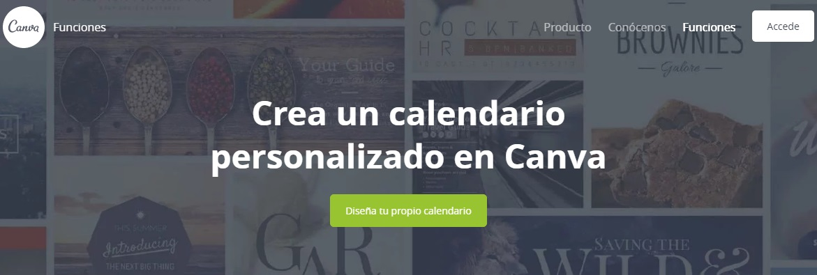 calendarios personalizados canvas