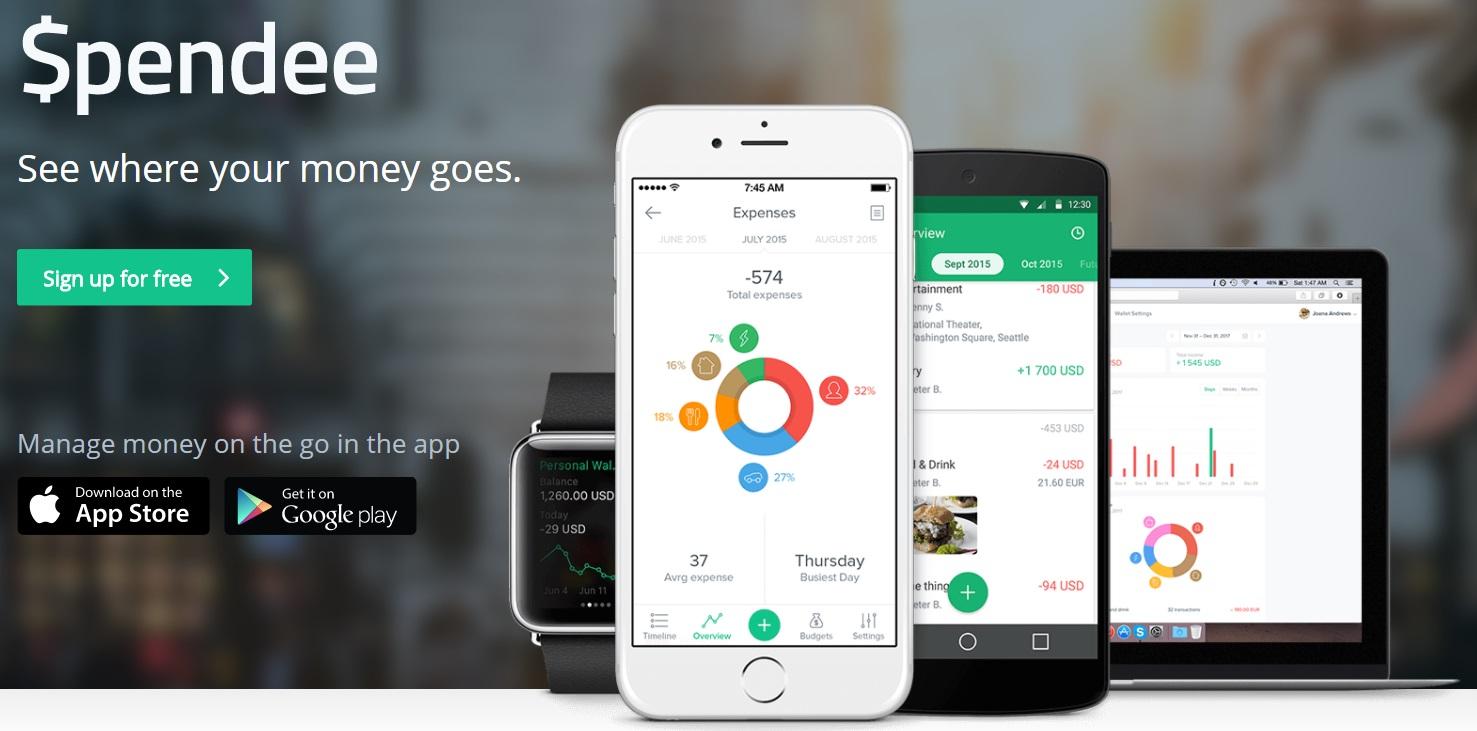 app ahorro de dinero spendee