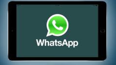 Rumor: WhatsApp llegará a iPad con ciertos cambios
