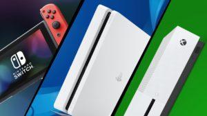 Comparativa PS4 vs Xbox One vs Nintendo Switch