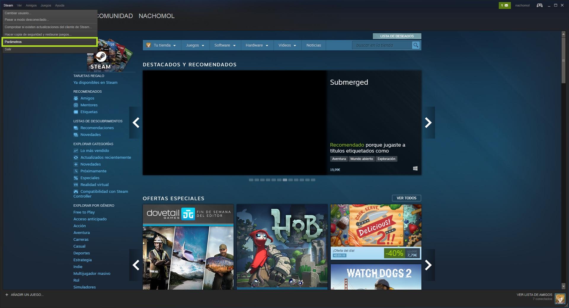 Como Usar Steam Family Sharing Para Compartir Tus Juegos Con Quien