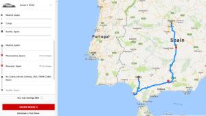 Tesla lanza Tesla Trips la versión web de su planificador de rutas