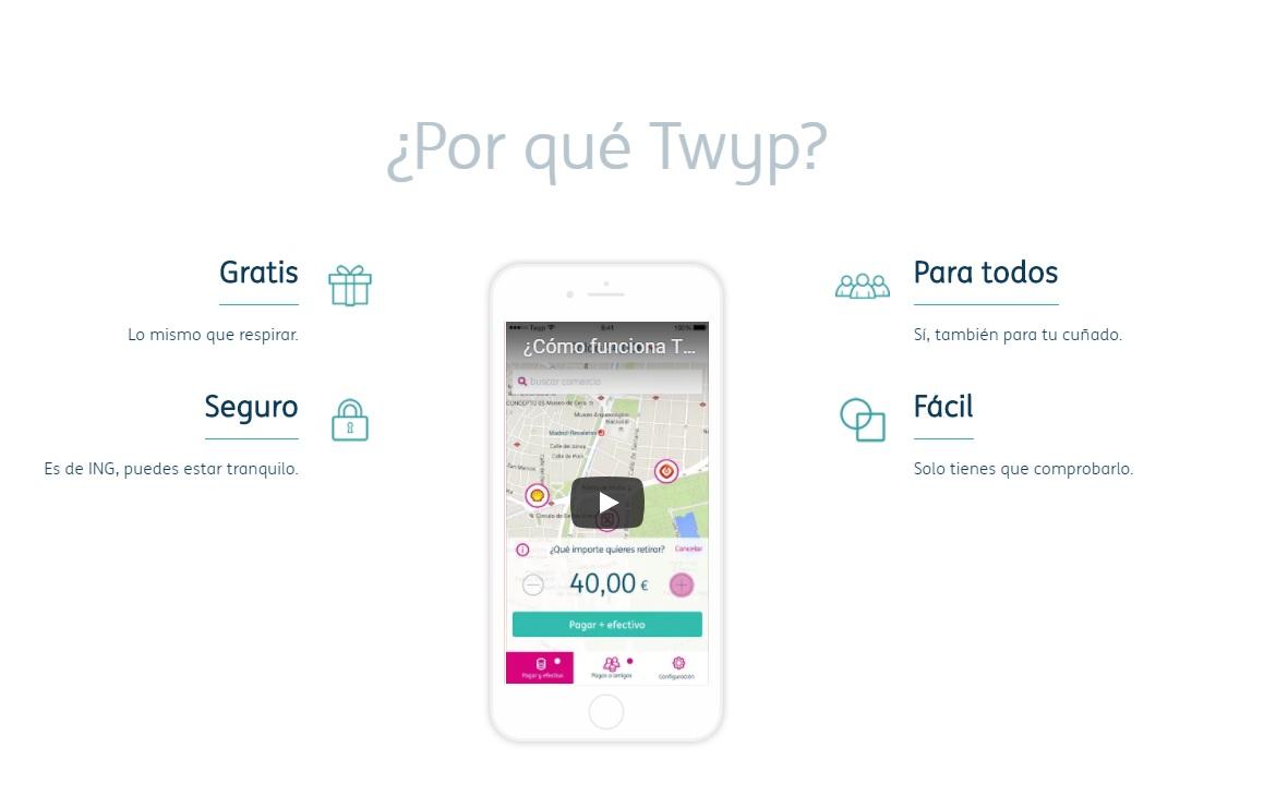 Twyp app para pagar entre amigos