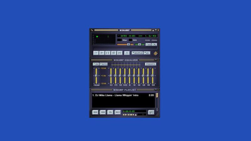 Winamp vuelve en forma de reproductor web