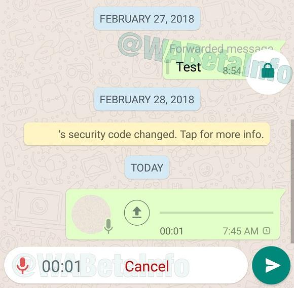 WhatsApp añade función de bloqueo para las notas de voz: ahora será más cómodo crearlas 4