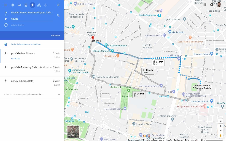 truco de google maps crea itinerarios