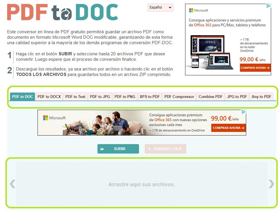 convertir PDF a eBook
