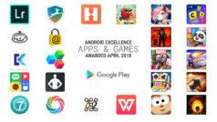 Android Excellence 2018: están son las mejores apps según Google a día de hoy