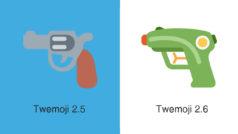 Twitter cambia su emoji de pistola por otra de agua