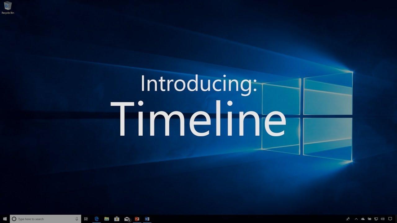 Qué es y para qué sirve Timeline de Windows 10