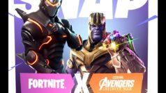 Thanos, invitado de lujo en Fornite