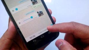 WhatsApp permite abrir los mensajes de audio y voz sin abrir la app