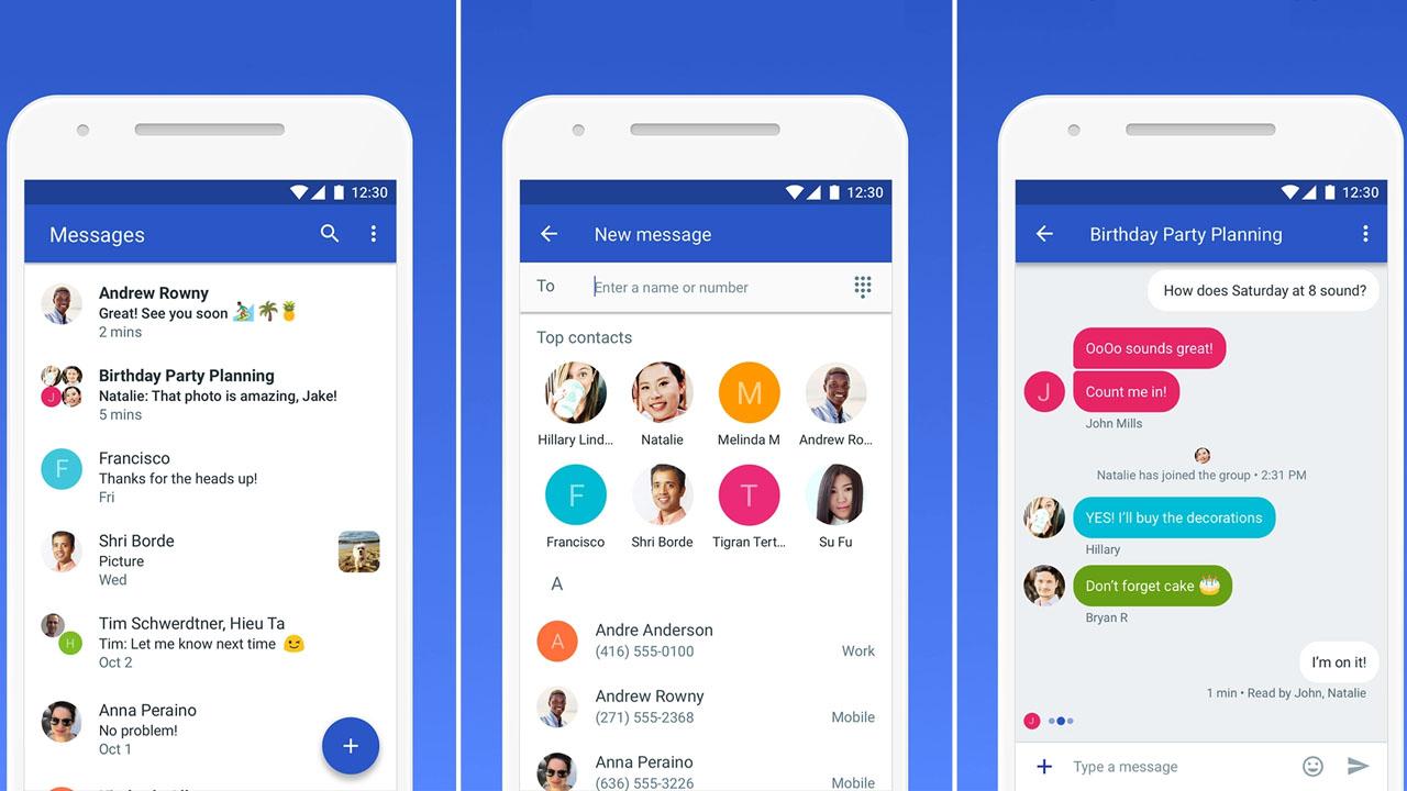 Mensajes de Android llega a PC para competir con WhatsApp