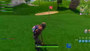 La Temporada 5 de Fortnite esconde un entretenido minijuego de Golf