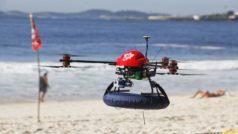 Un dron evita que dos bañistas se ahoguen en Australia
