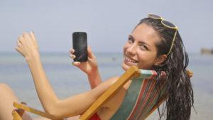 Lista de las playas de España con conexión WiFi