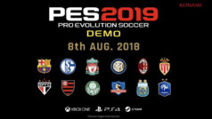 PES 2019 tendrá demo: saldrá para PC (Steam), PS4 y Xbox One el 8 de agosto