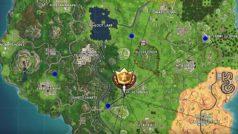 Fortnite: Registra el lugar donde apuntan las cabezas de piedra (Desafíos de la Semana 6, Temporada 5)