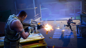 Así sería Fortnite: Battle Royale si fuera un first-person shooter