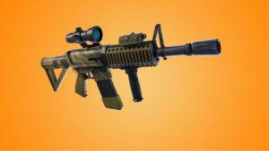 Fortnite: Realiza 5 eliminaciones con Rifles de Asalto (Desafíos de la Semana 9, Temporada 5)