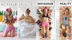 Instagram vs Realidad: esta influencer se ríe del postureo de IG