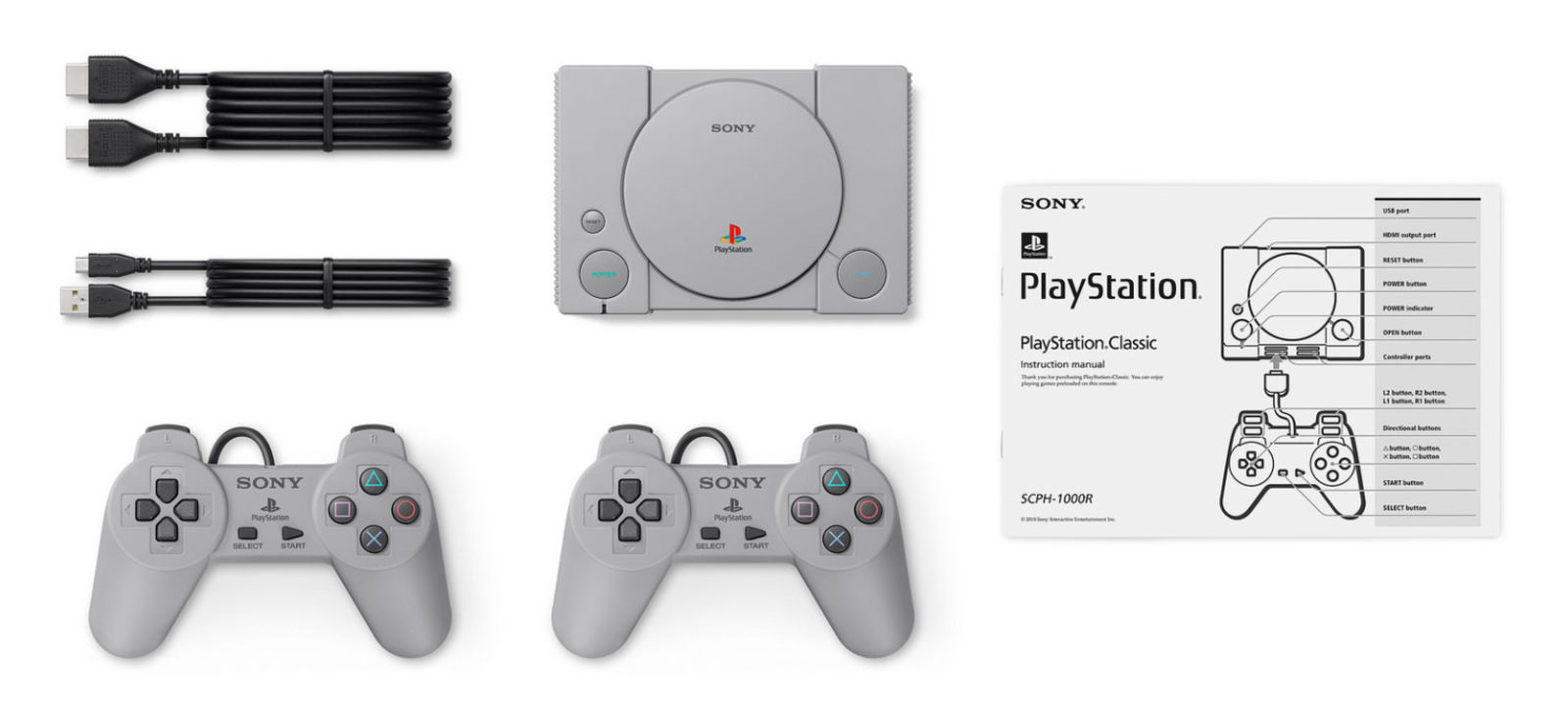 Pack completo de PlayStation Classic